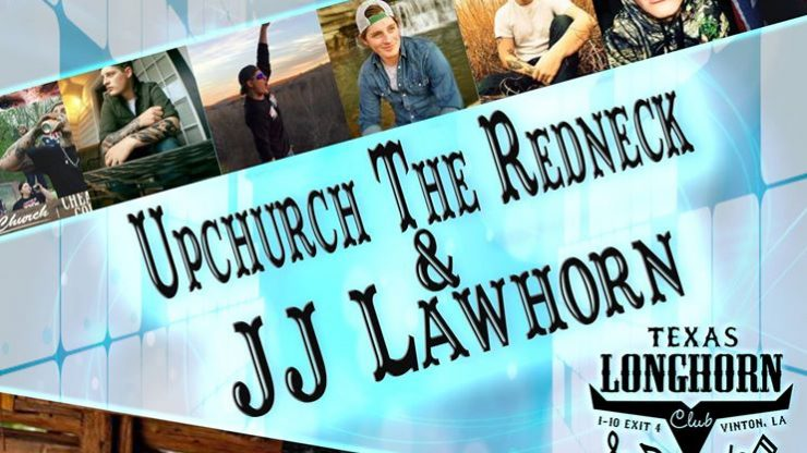 Upchurch The Redneck & JJ Lawhorn at the Texas Longhorn Club