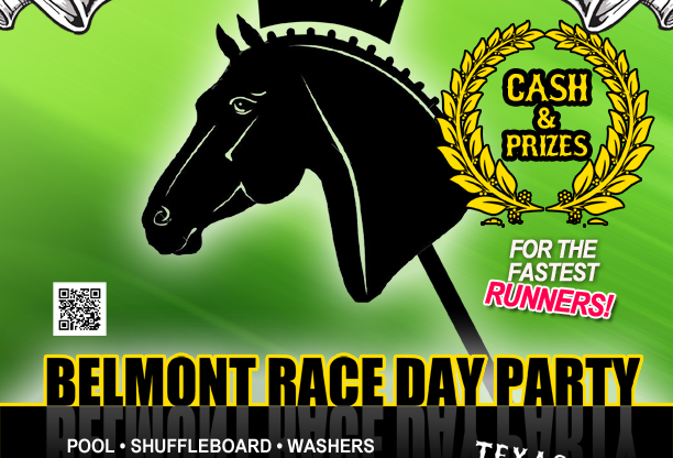 Belmont RACE DAY After Party at the Texas Longhorn Club!