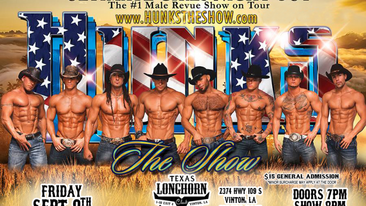 It's official! Get your HUNKS tickets now for Sept 9th!