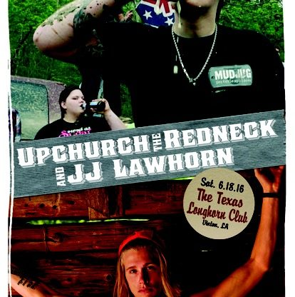 FREE Upchurch the Redneck/JJ Lawhorn ticket giveaways!