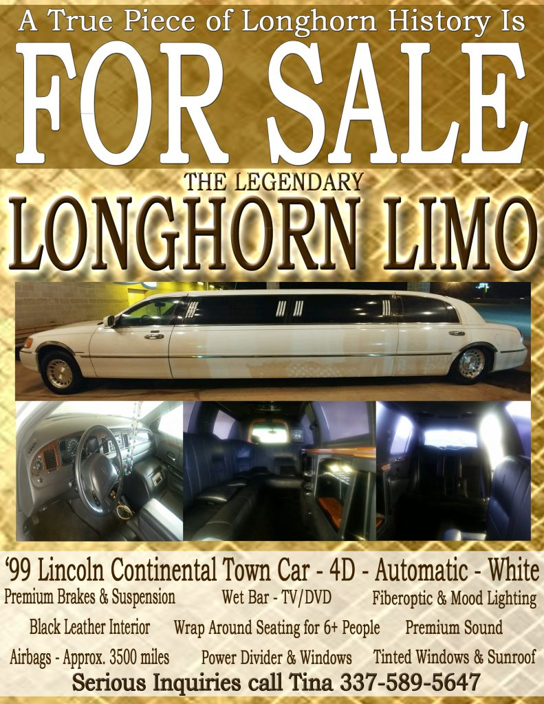 Longhorn Limo For Sale copy